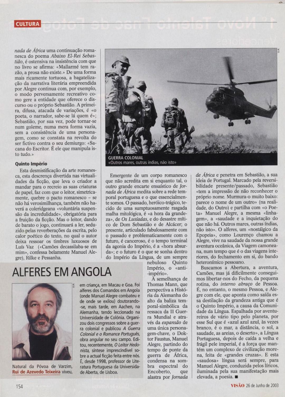 7. Sobre Manuel Alegre - Visão