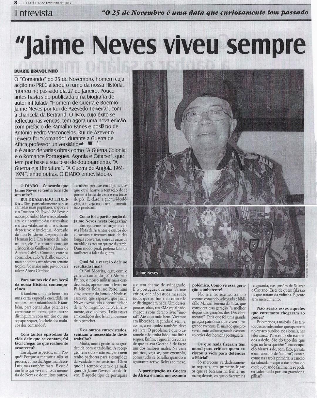 10. Jaime Neves por Rui de Azevedo Teixeira