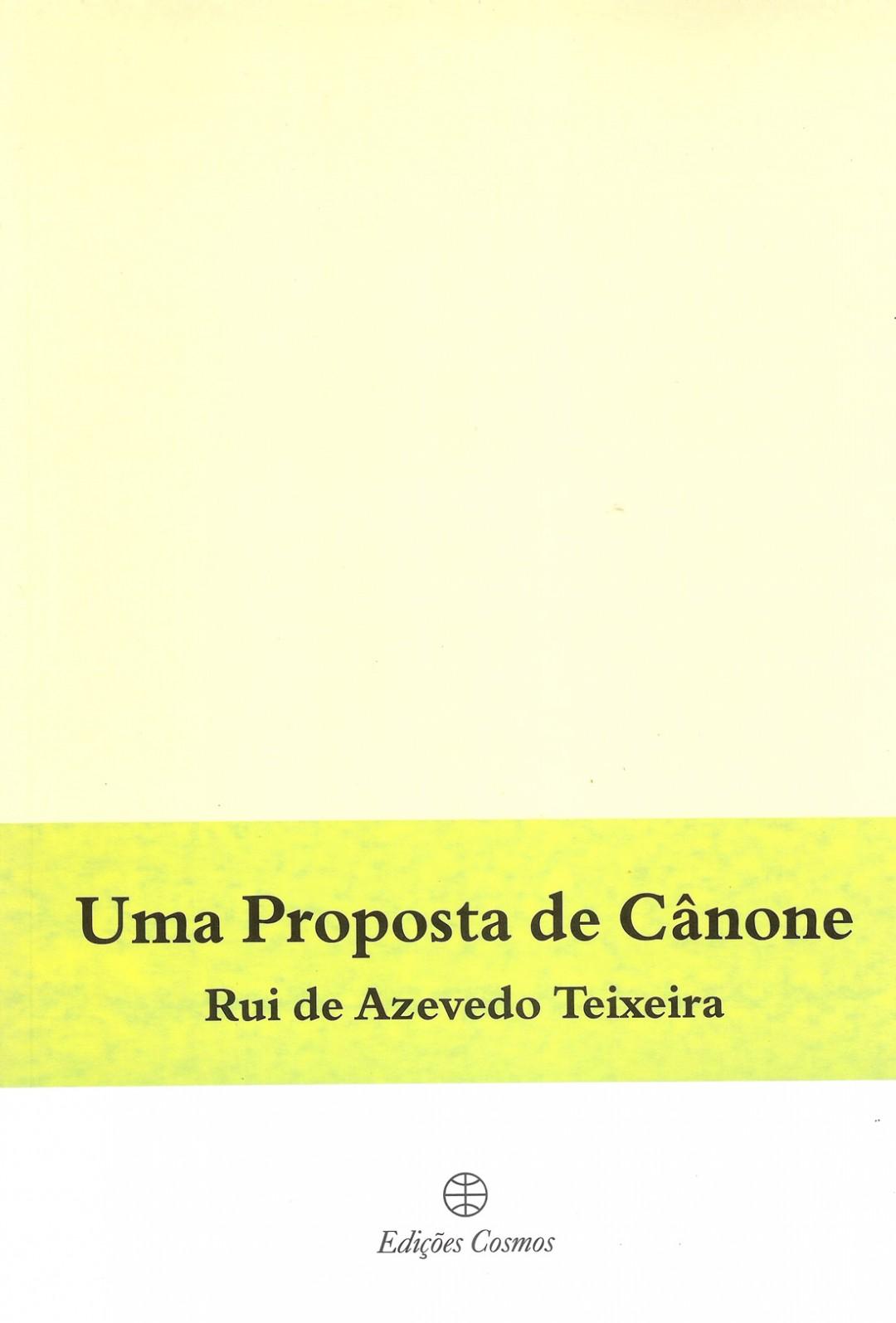 5. Uma Proposta de Cânone