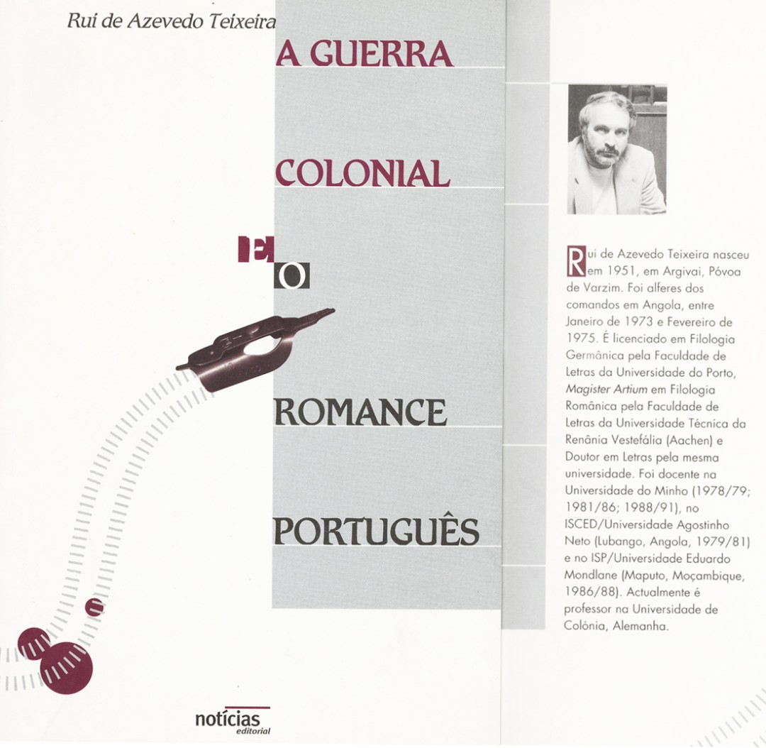 1. A Guerra Colonial e o Romance Português