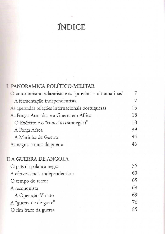 4. A Guerra de Angola 1961|1974