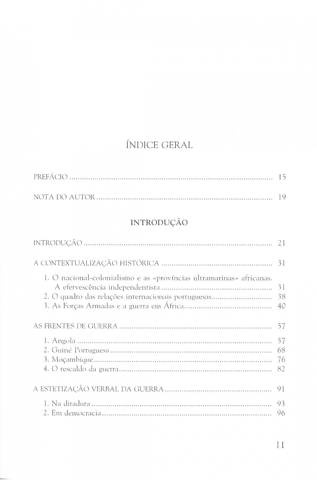2. A Guerra Colonial e o Romance Português